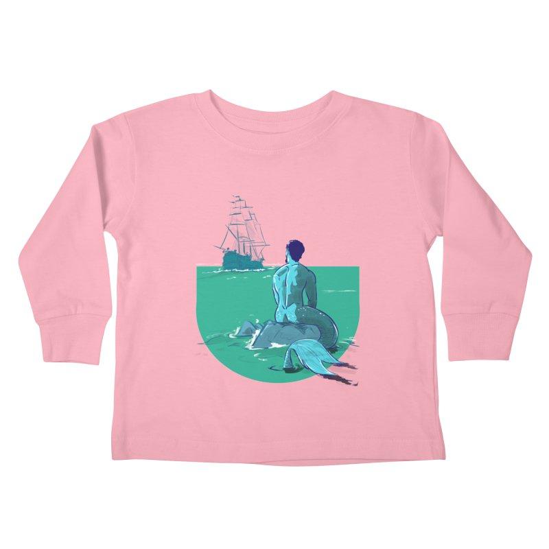 Ocean Kids Toddler Longsleeve T-Shirt by Ego Rodriguez