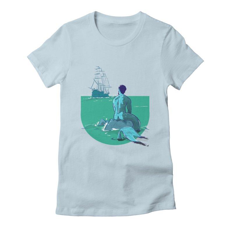 Ocean Women's T-Shirt by Ego Rodriguez