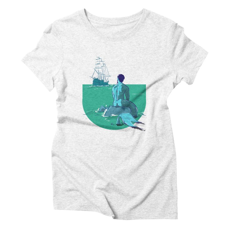 Ocean Women's Triblend T-shirt by Ego Rodriguez's Shop