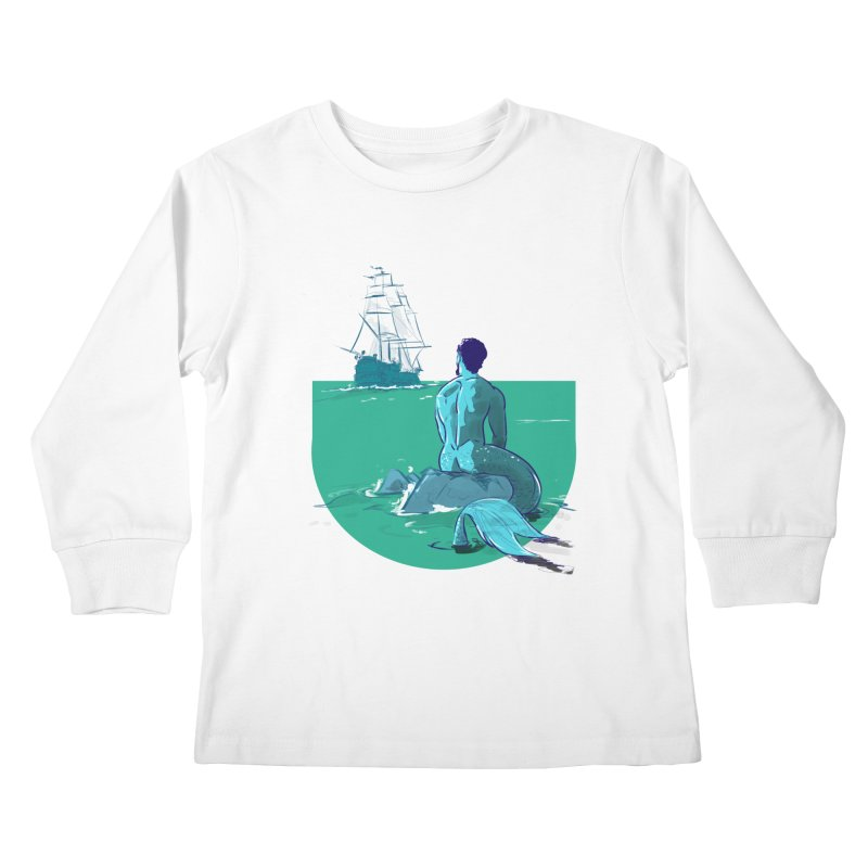 Ocean Kids Longsleeve T-Shirt by Ego Rodriguez's Shop