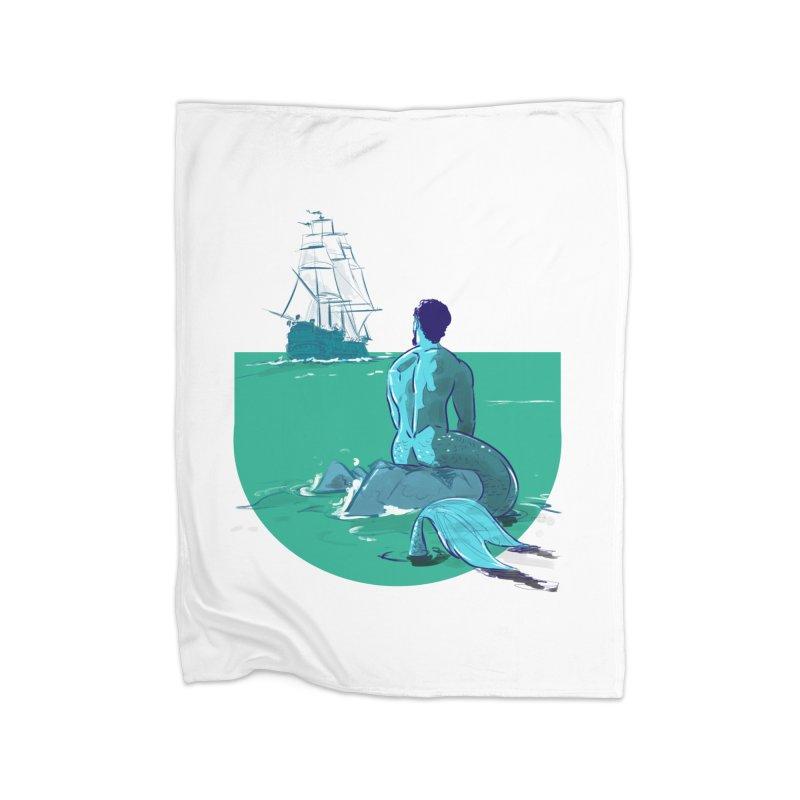 Ocean Home Blanket by Ego Rodriguez's Shop