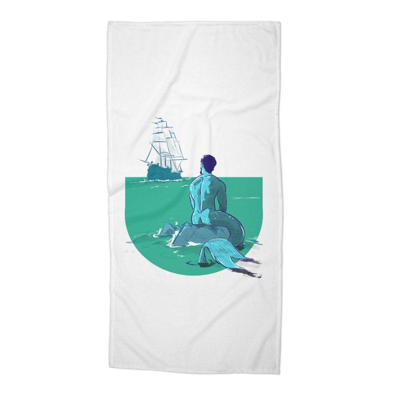 Ocean Accessories Beach Towel by Ego Rodriguez's Shop