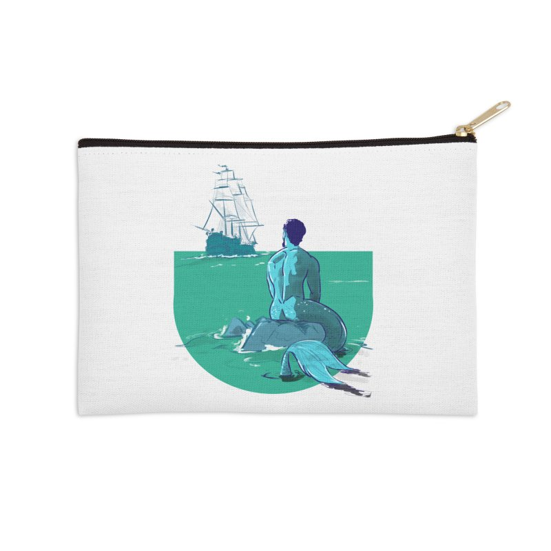Ocean Accessories Zip Pouch by Ego Rodriguez