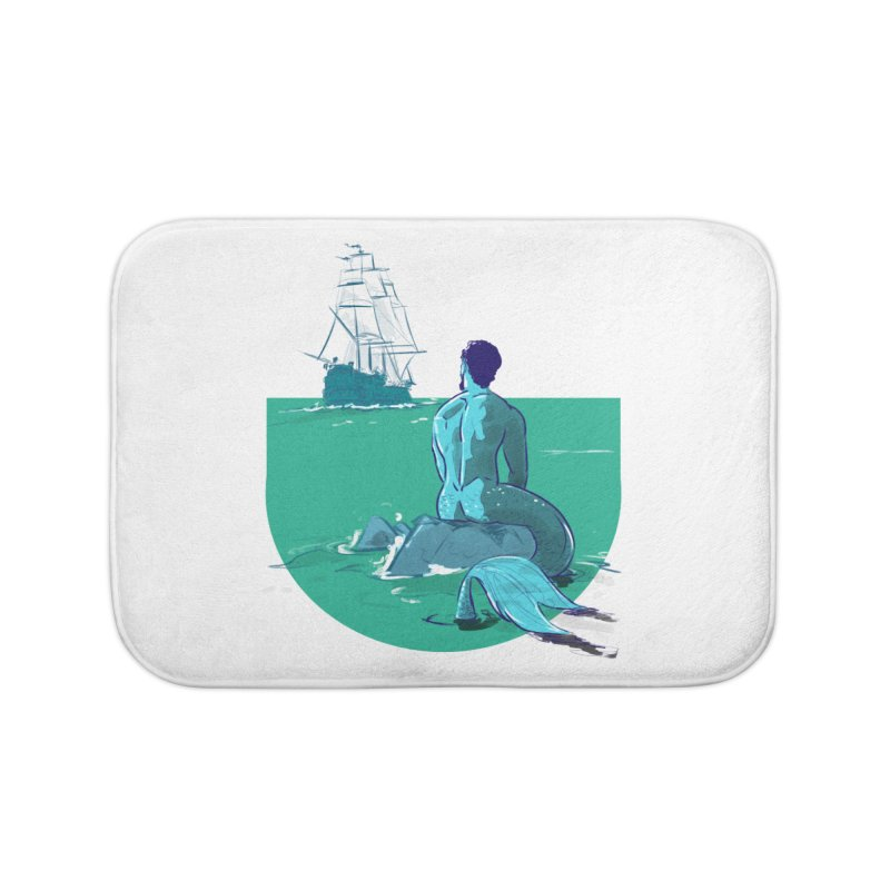 Ocean Home Bath Mat by Ego Rodriguez