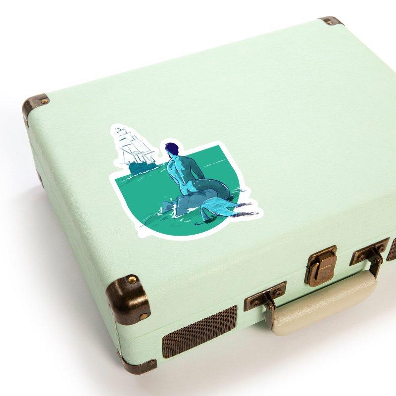 Ocean Accessories Sticker by Ego Rodriguez