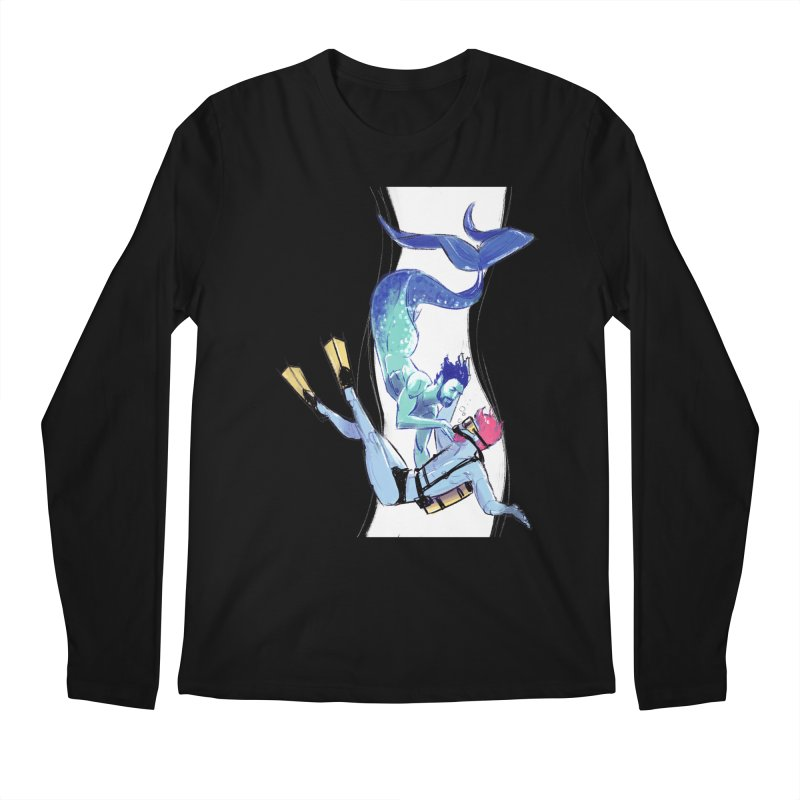 Dive Men's Longsleeve T-Shirt by Ego Rodriguez's Shop