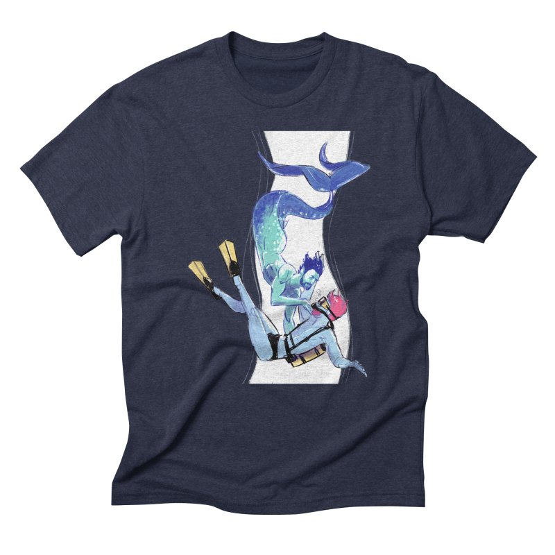 Dive Men's Triblend T-shirt by Ego Rodriguez's Shop
