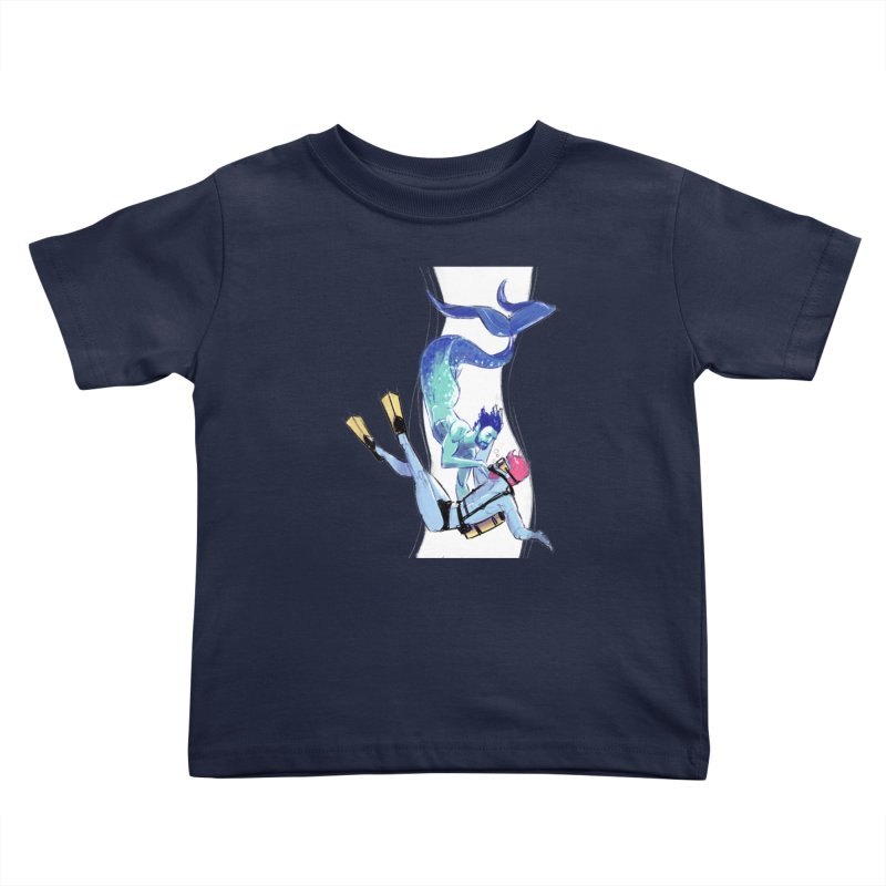 Dive Kids Toddler T-Shirt by Ego Rodriguez
