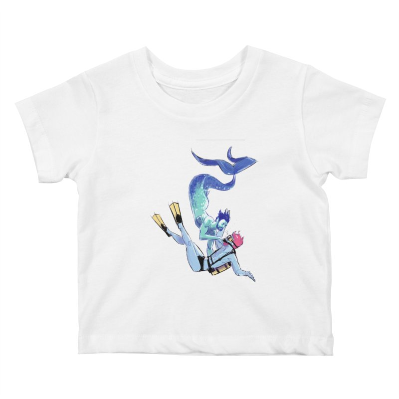 Dive Kids Baby T-Shirt by Ego Rodriguez's Shop