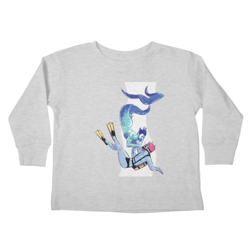 Dive Kids Toddler Longsleeve T-Shirt by Ego Rodriguez's Shop