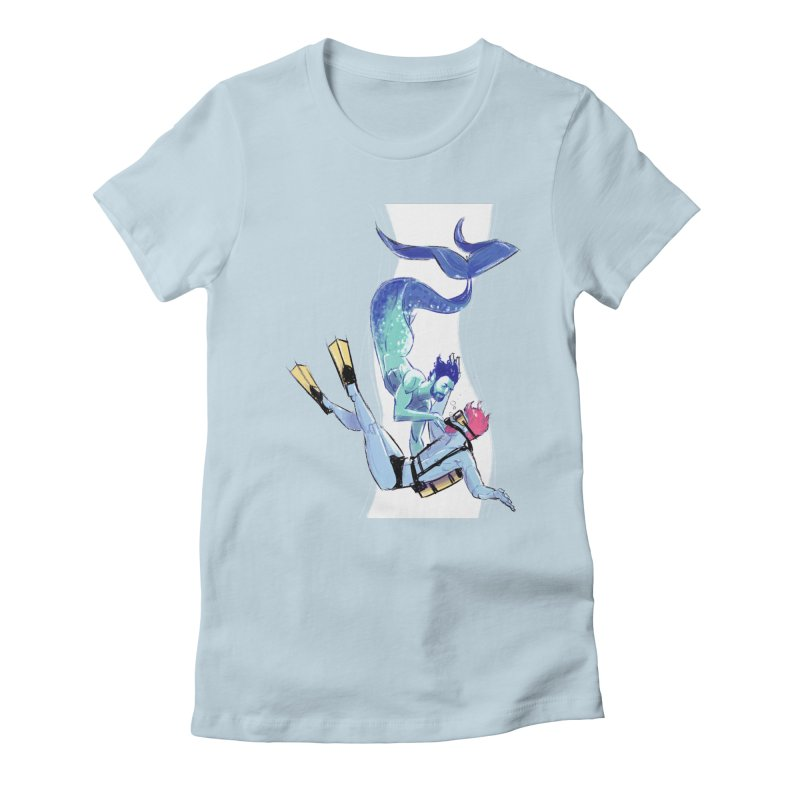 Dive Women's T-Shirt by Ego Rodriguez