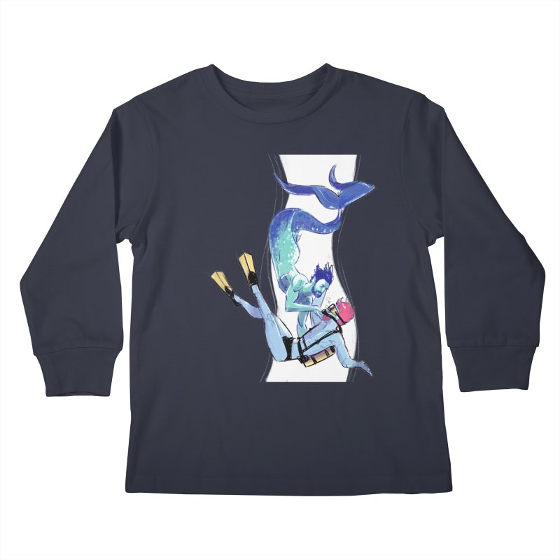 Dive Kids Longsleeve T-Shirt by Ego Rodriguez's Shop