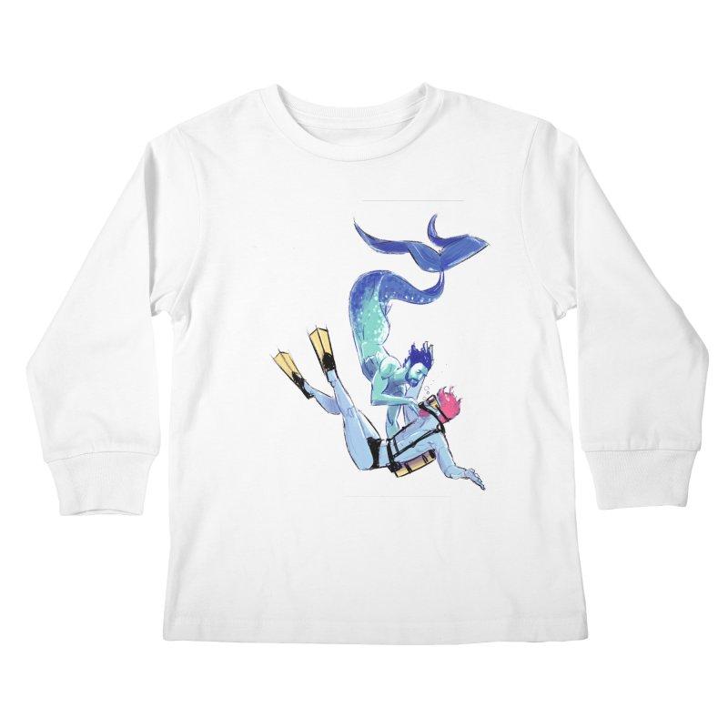 Dive Kids Longsleeve T-Shirt by Ego Rodriguez's Shop