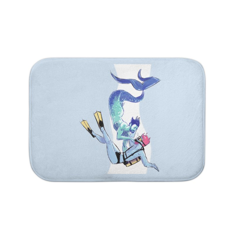 Dive Home Bath Mat by Ego Rodriguez's Shop