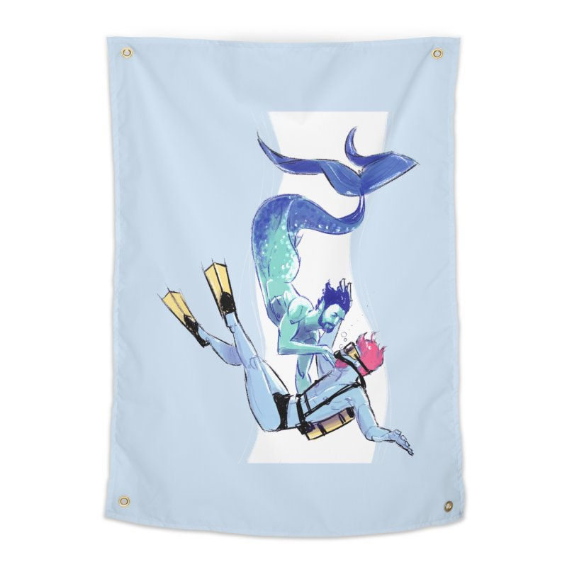 Dive Home Tapestry by Ego Rodriguez's Shop