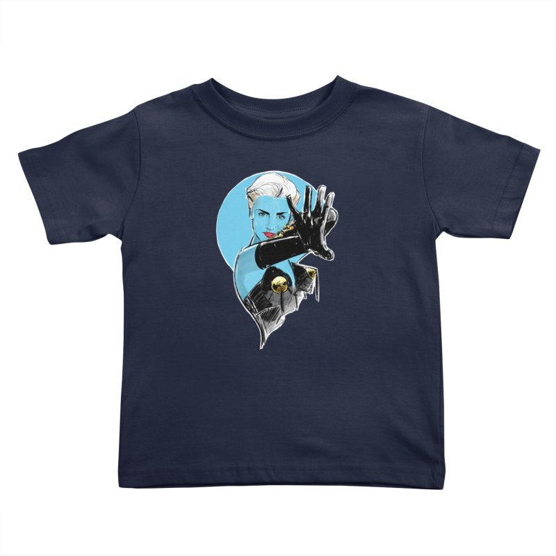 Open Your Heart Kids Toddler T-Shirt by Ego Rodriguez