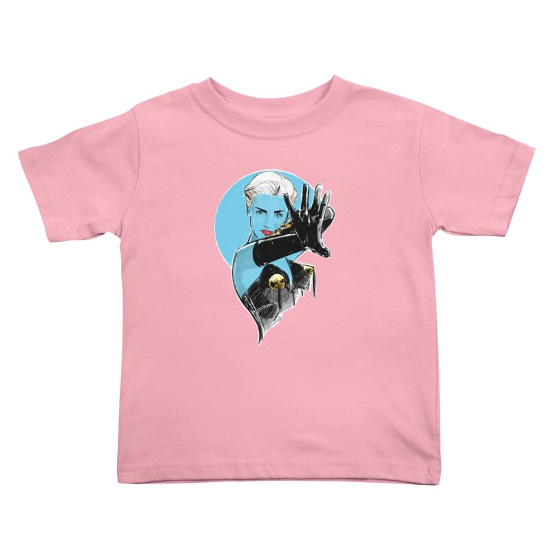 Open Your Heart Kids Toddler T-Shirt by Ego Rodriguez's Shop