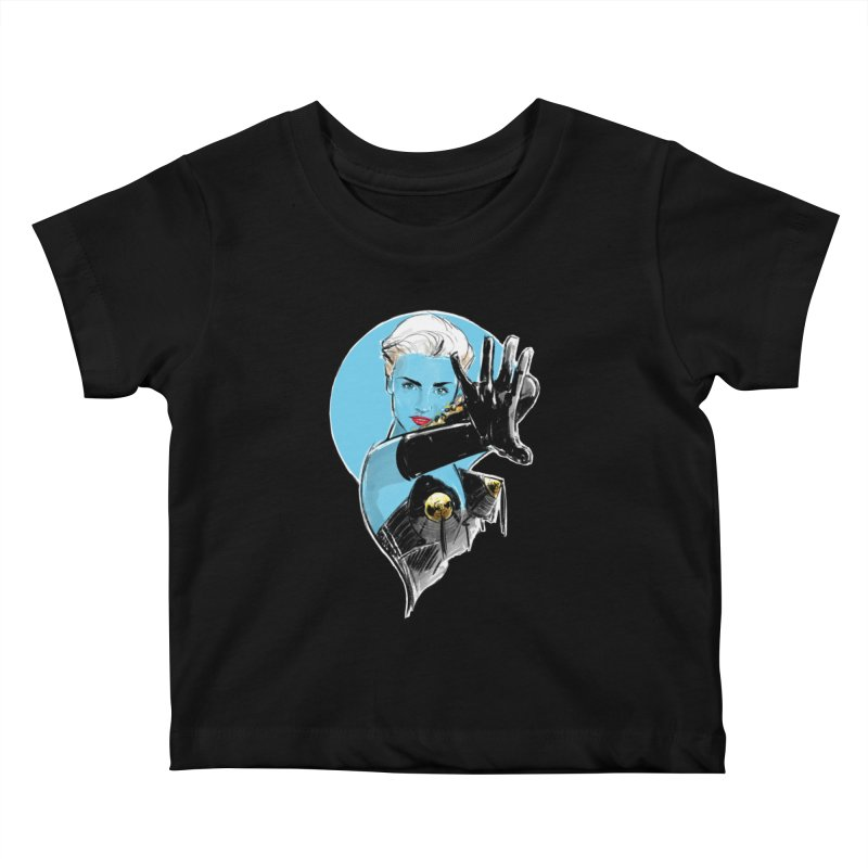 Open Your Heart Kids Baby T-Shirt by Ego Rodriguez