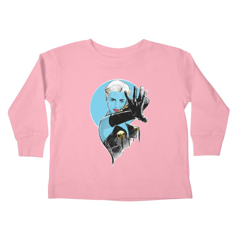 Open Your Heart Kids Toddler Longsleeve T-Shirt by Ego Rodriguez's Shop