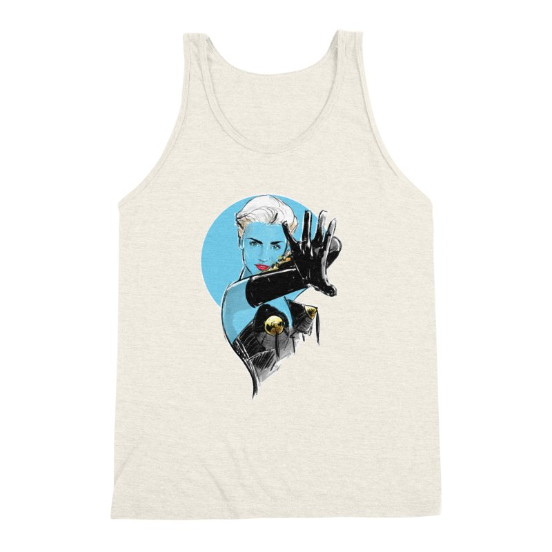 Open Your Heart Men's Triblend Tank by Ego Rodriguez's Shop