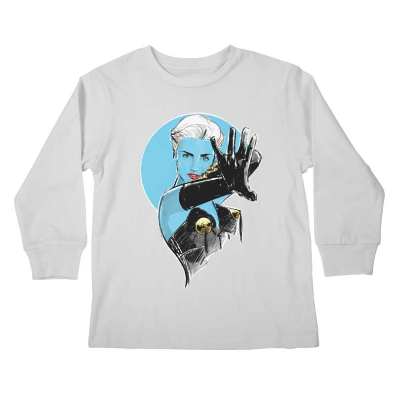 Open Your Heart Kids Longsleeve T-Shirt by Ego Rodriguez's Shop
