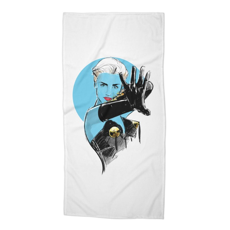 Open Your Heart Accessories Beach Towel by Ego Rodriguez's Shop