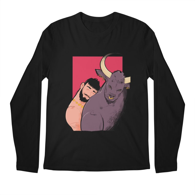 Theseus + Minotaur Men's Longsleeve T-Shirt by Ego Rodriguez's Shop