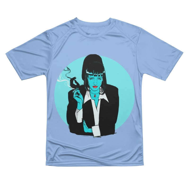Mia Wallace Men's T-Shirt by Ego Rodriguez