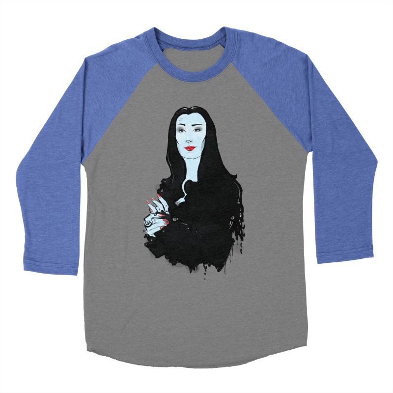 Morticia Women's Longsleeve T-Shirt by Ego Rodriguez