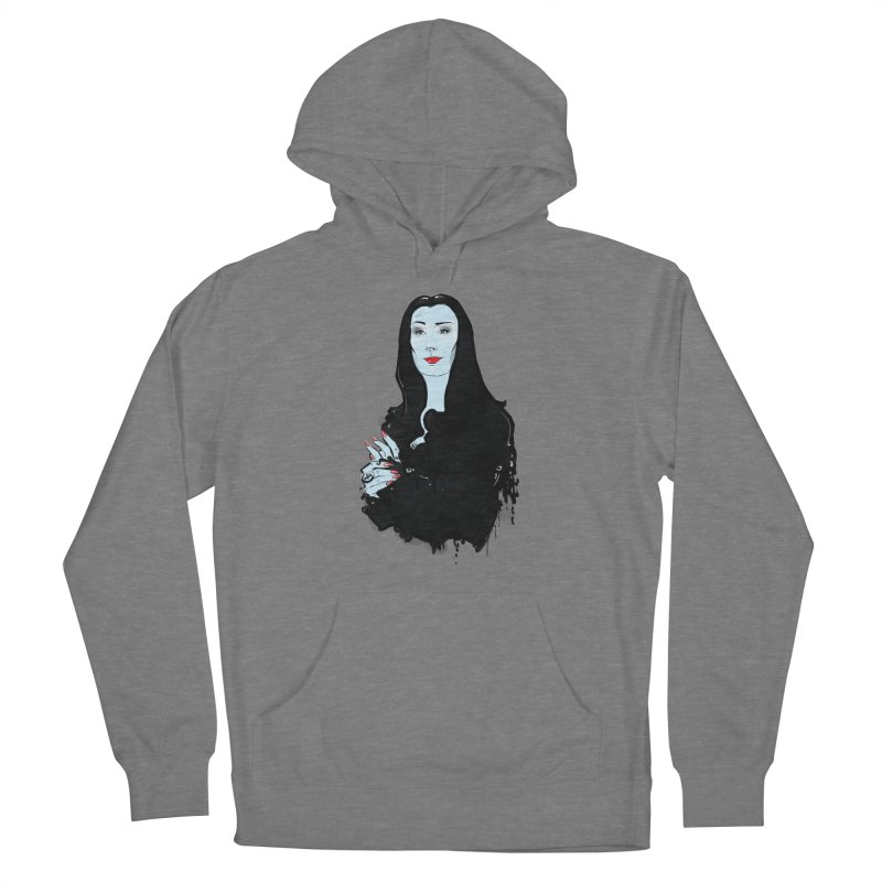 Morticia Women's Pullover Hoody by Ego Rodriguez