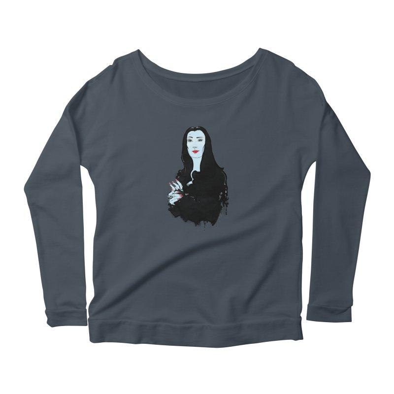 Morticia Women's Longsleeve T-Shirt by Ego Rodriguez
