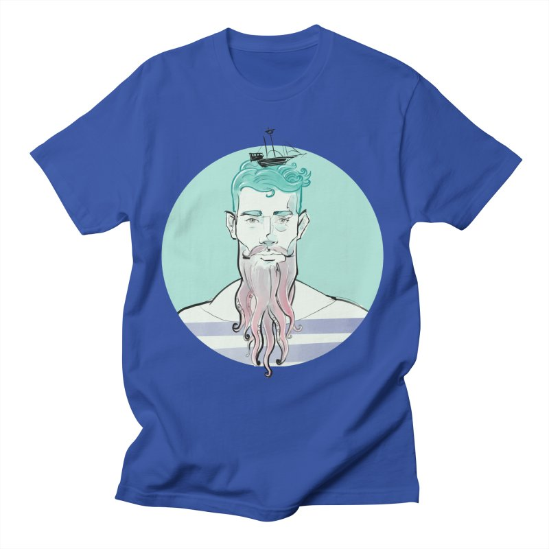 Neptune Men's T-Shirt by Ego Rodriguez