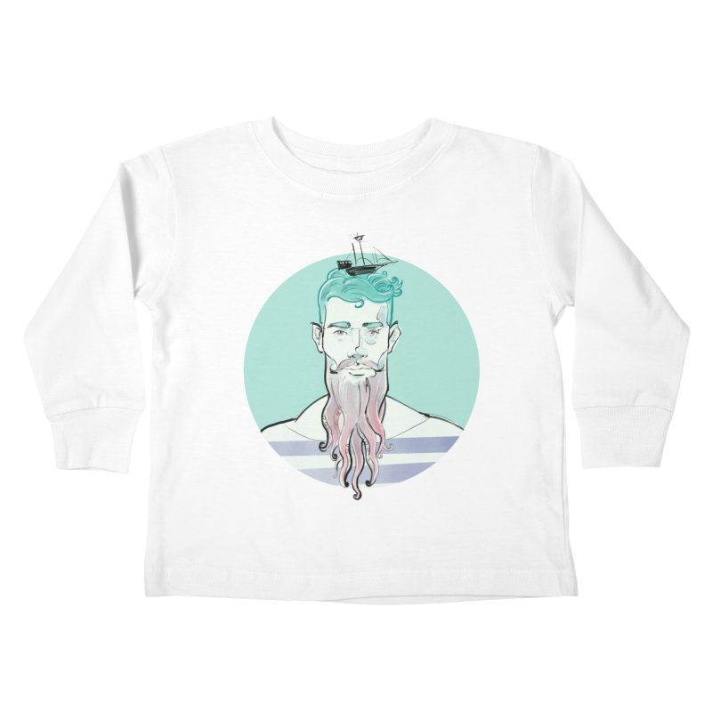 Neptune Kids Toddler Longsleeve T-Shirt by Ego Rodriguez's Shop