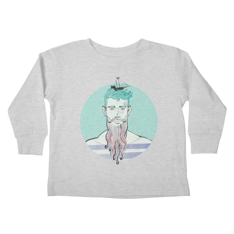 Neptune Kids Toddler Longsleeve T-Shirt by Ego Rodriguez's Shop