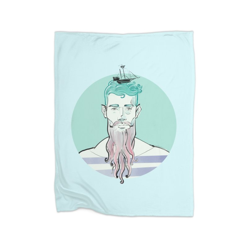 Neptune Home Blanket by Ego Rodriguez