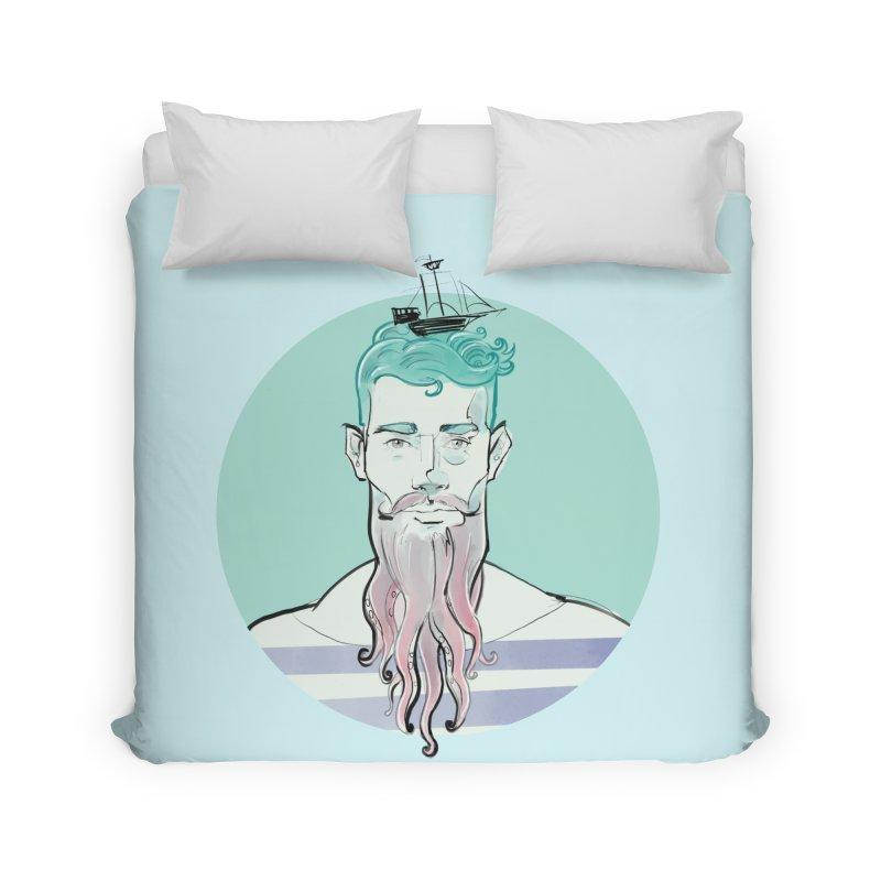 Neptune Home Duvet by Ego Rodriguez