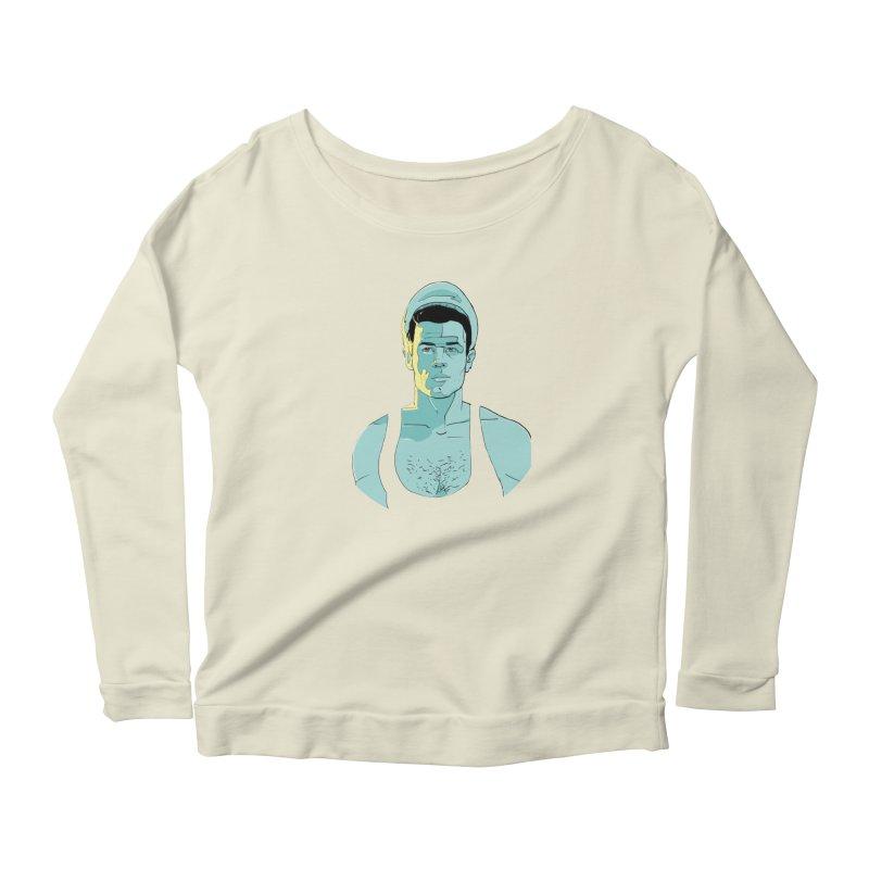 Querelle Women's Scoop Neck Longsleeve T-Shirt by Ego Rodriguez