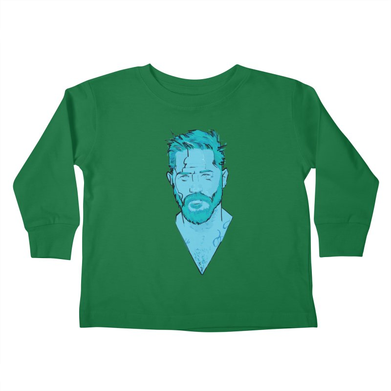 Tom Hardy Kids Toddler Longsleeve T-Shirt by Ego Rodriguez's Shop