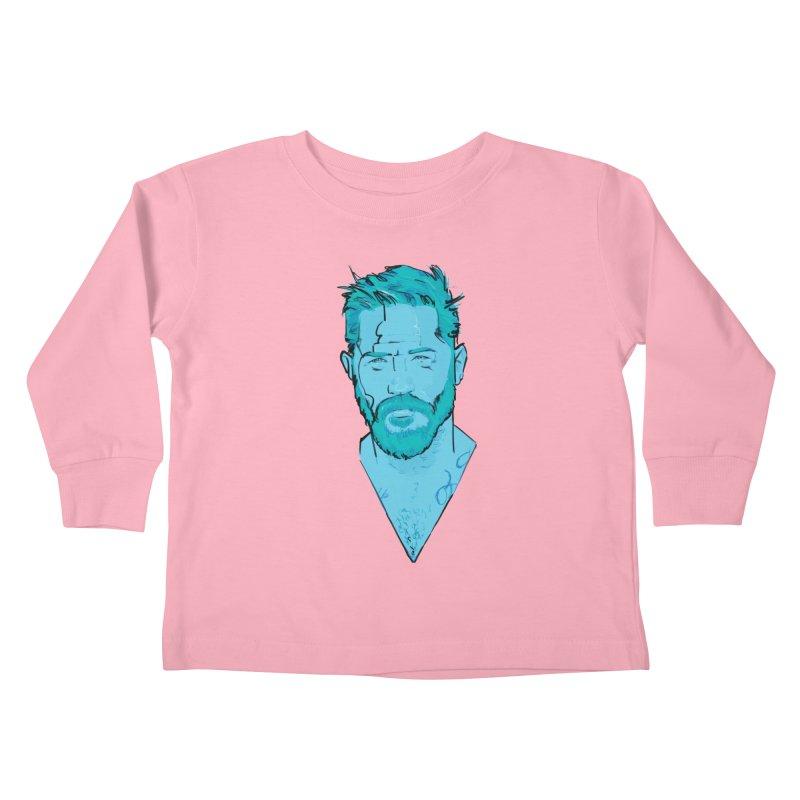 Tom Hardy Kids Toddler Longsleeve T-Shirt by Ego Rodriguez's Shop