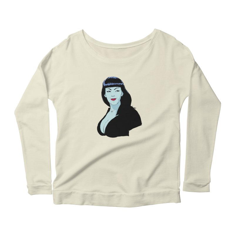 Varla Women's Scoop Neck Longsleeve T-Shirt by Ego Rodriguez