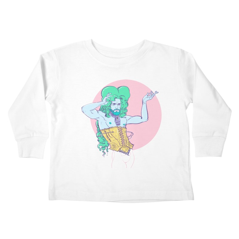XVIII Kids Toddler Longsleeve T-Shirt by Ego Rodriguez's Shop