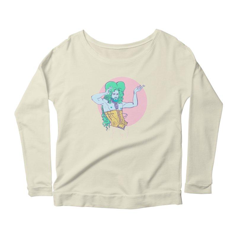 XVIII Women's Scoop Neck Longsleeve T-Shirt by Ego Rodriguez