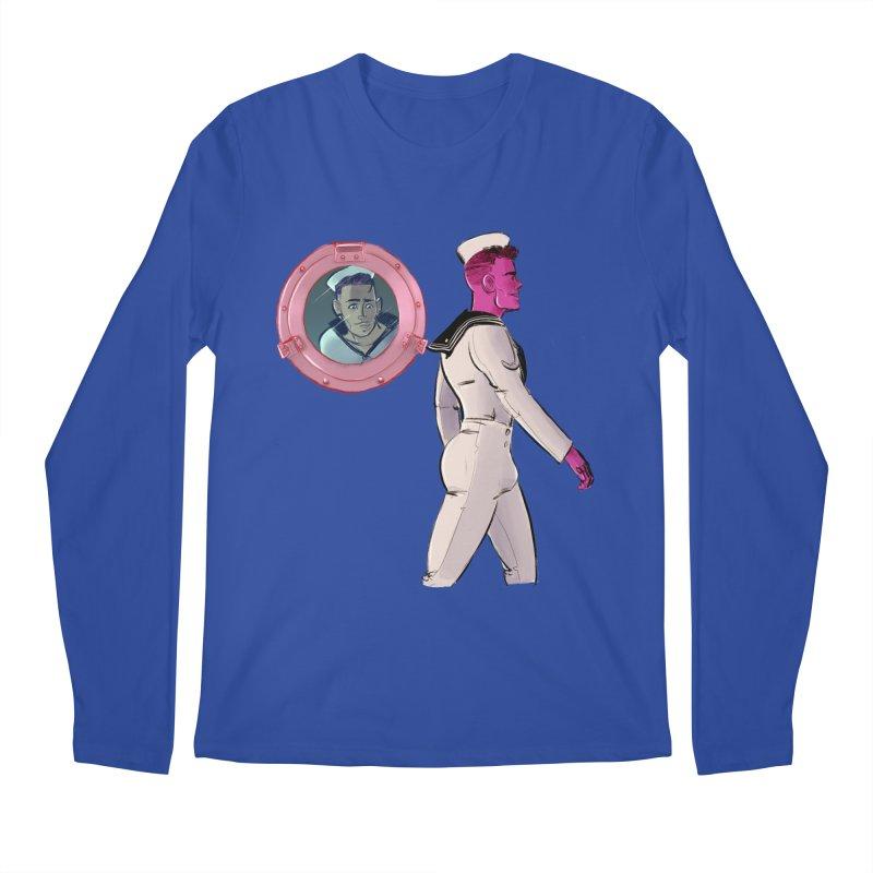 At Sea Men's Longsleeve T-Shirt by Ego Rodriguez