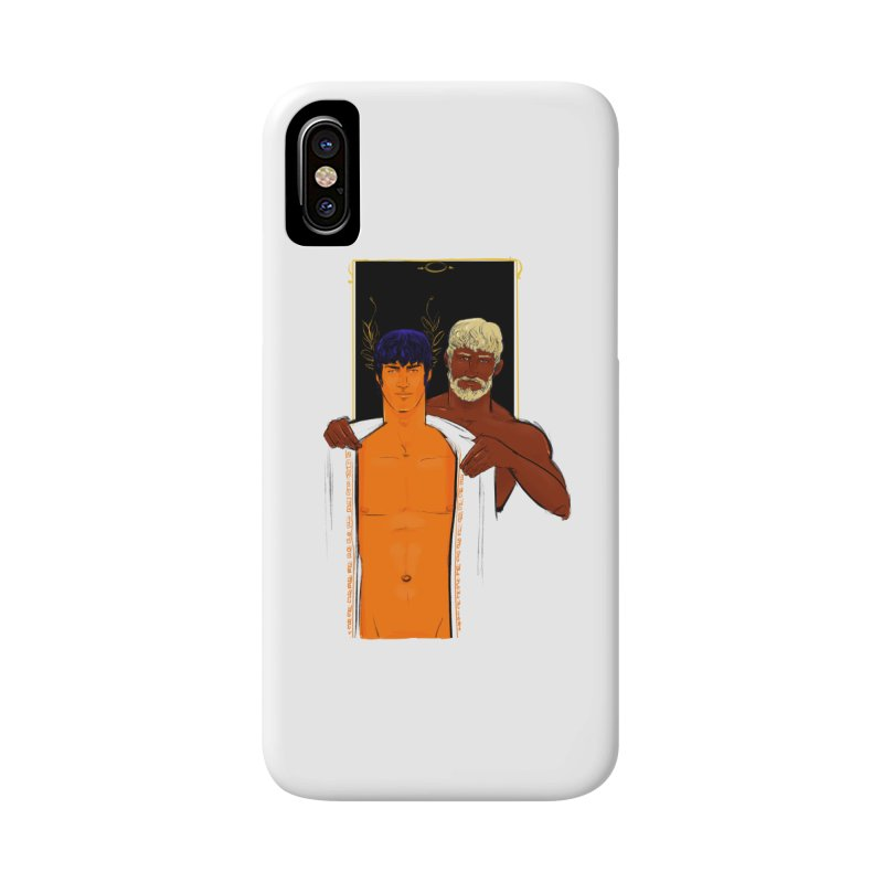 Hadrian & Antinous Accessories Phone Case by Ego Rodriguez