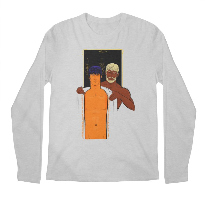 Hadrian & Antinous Men's Longsleeve T-Shirt by Ego Rodriguez