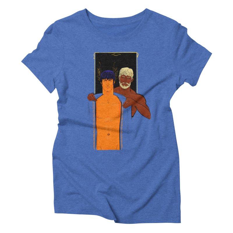 Hadrian & Antinous Women's Triblend T-Shirt by Ego Rodriguez