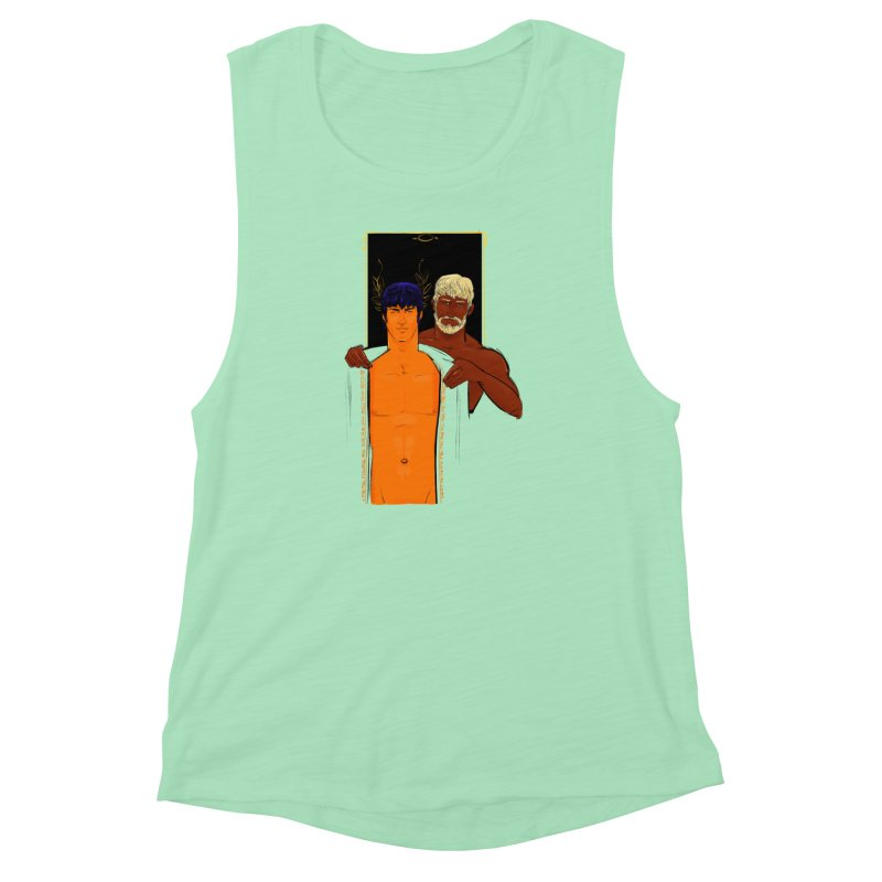 Hadrian & Antinous Women's Muscle Tank by Ego Rodriguez