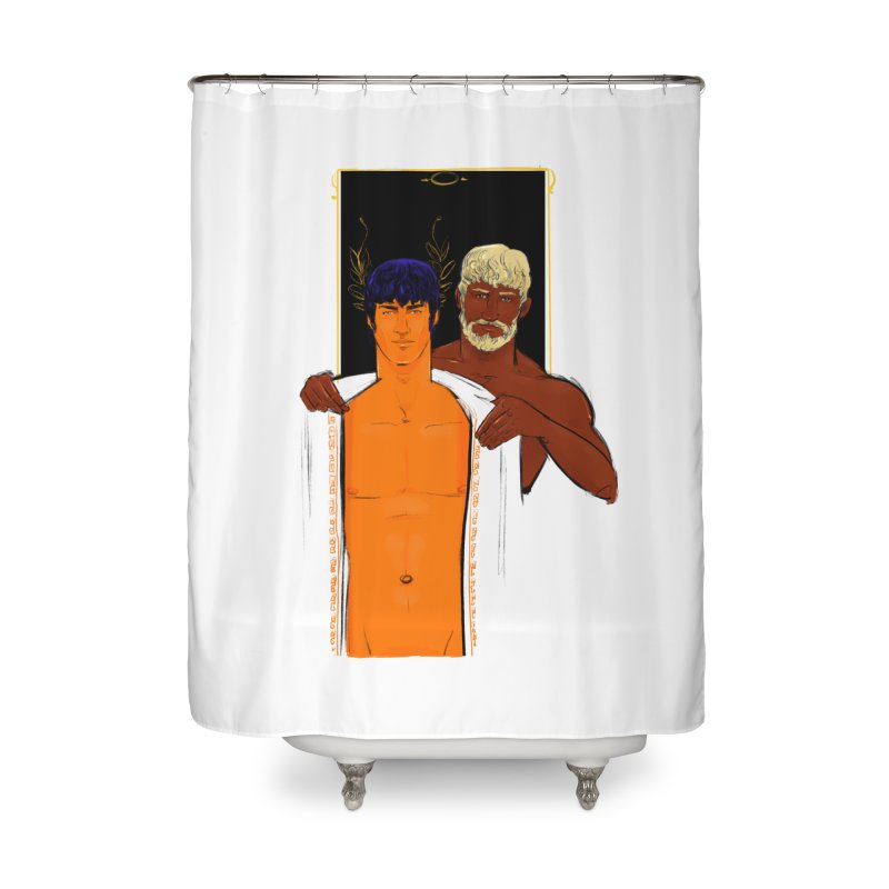 Hadrian & Antinous Home Shower Curtain by Ego Rodriguez
