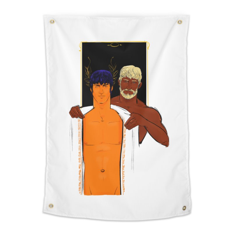 Hadrian & Antinous Home Tapestry by Ego Rodriguez
