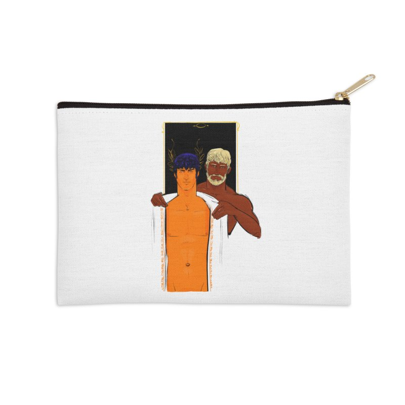 Hadrian & Antinous Accessories Zip Pouch by Ego Rodriguez